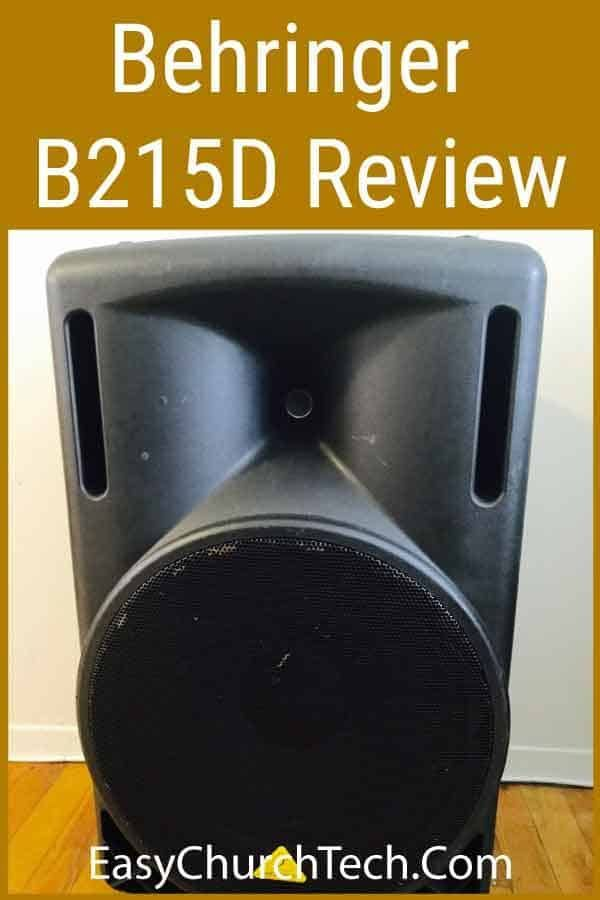 Behringer B215D Review – Powered PA Speakers For Your Outreach