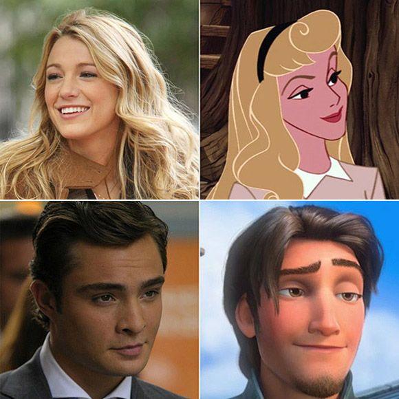 À l'international - Les personnages de Gossip Girl et leur jumeau Disney | HollywoodPQ.com