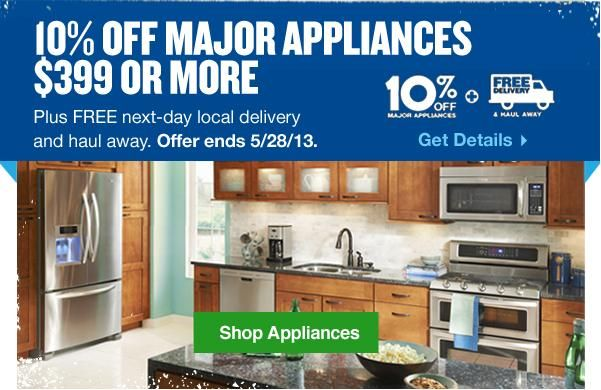Lowe's Memorial Day Sale 2013 - Electrifying Deals on Home Appliances