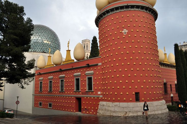 Salvador Dali Museum, Figueras Spain, city where Dali was born, lived and died.