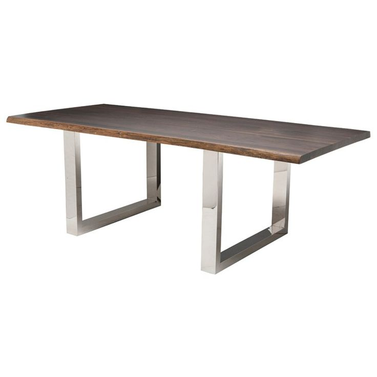 Dining Tables : Nuevo Living Lyon 78 Dining Table   Gray Oxidized Oak At  Lofty Ambitions