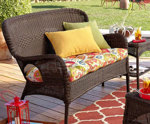 Pier 1u0027s Kaeden Bright Cushions With Coco Cove Outdoor Furniture