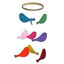 Bird Mobile Rainbow - children's room accessories-like this