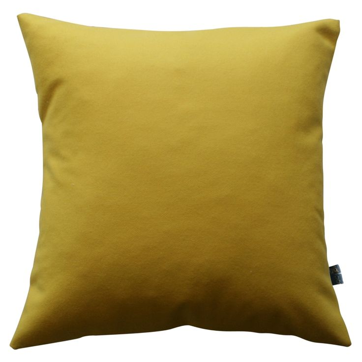 hardtofind. | Canary woollen and linen cushion cover