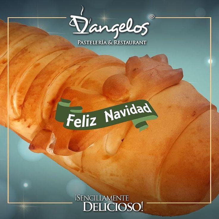 Llegó la navidad! Y la celebramos con el sabor #SencillamenteDelicioso del Pan de Jamón que te encanta.  Encargos en el link de nuestro perfil y en http://dangeloscafe.com  #PanDeJamon #Guayana #puertoordaz #gastronomía #feliznavidad