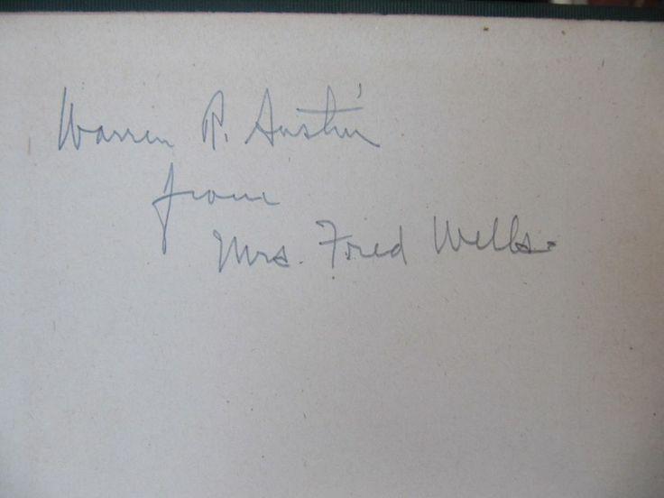 SCARCE SIGNATURES(3) OF WARREN R. AUSTEN VERMONT SENATOR UN.NATIONS AMBAS-R 1916