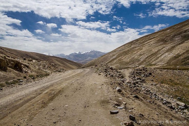 The Khargush Pass Tajikistan Linking the Pamir Highway with the Wakhan Valley the Khargush Pass (4344m) provide a tantalising first glimpse of Afghanistan and the snow-capped peaks of the Hindu Kush beyond. #pamirhighway #tajikistan #roadtrip #travel #mountains