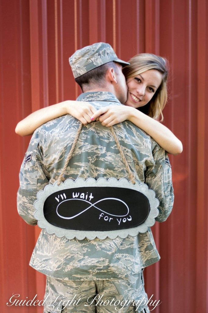 Love this sweet couple, and so blessed to take their pictures! © Guided Light Photography by Jessica Walker Military couple, couples pictures