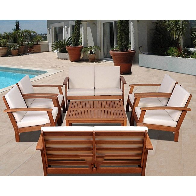 Orleans 8-piece Conversation Living Room Set by Havenside ... on Patio Living Room Set id=80443