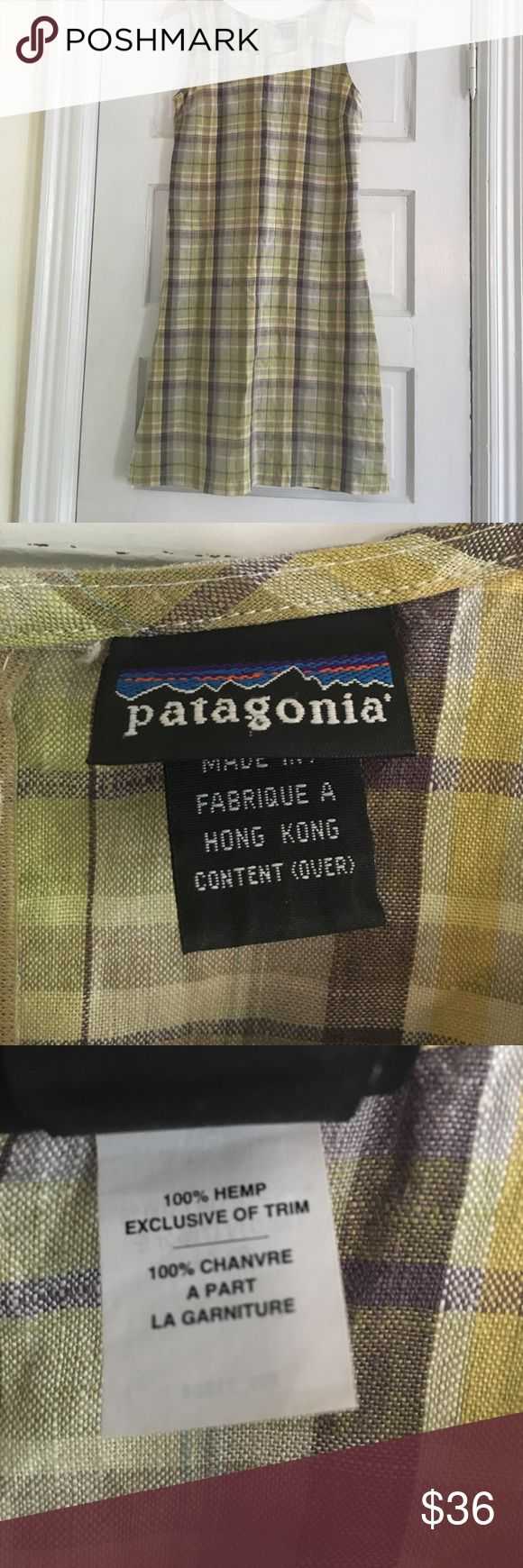 Patagonia Dress size 6 EUC Patagonia brand summer dress size 6. 100% hemp, feels like linen. Shift style, very comfortable! True to size 6, falls at knee. Smoke free home. Patagonia Dresses