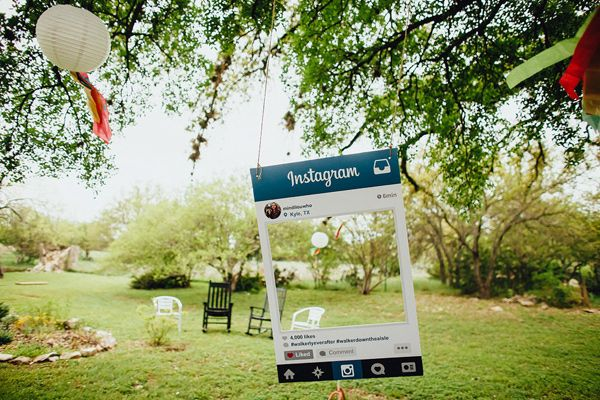 handmade bright and eclectic Texas wedding - photo by Two Pair Photography http://ruffledblog.com/handmade-bright-and-eclectic-texas-wedding