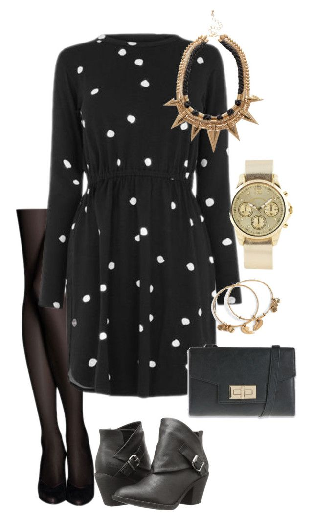 """Night out look #3"" by amooshadow on Polyvore featuring Warehouse, Blowfish, Alex and Ani and ALDO"