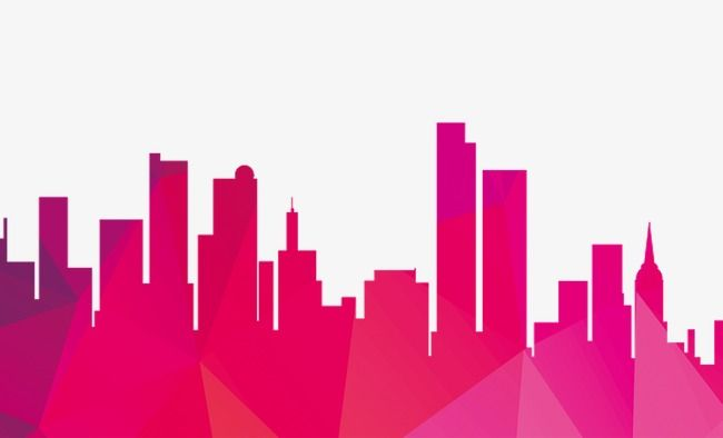 Geometric City Building Silhouettes City Silhouette Geometric Background City Png Transparent Clipart Image And Psd File For Free Download Geometric Background City Silhouette Building Silhouette