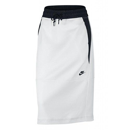 NIKE TECH FLEECE SKIRT - WOMEN'S (M, White/Black)   #pumas #2017Anike #17 #2017 #20 #nike #2017Adidas #puma #Adidas