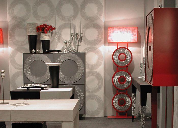 Una ambientazione con le opere di #artdesign di #FabioMasotti. Eleganza, raffinatezza, funzionalità. #italian #design #arradamento