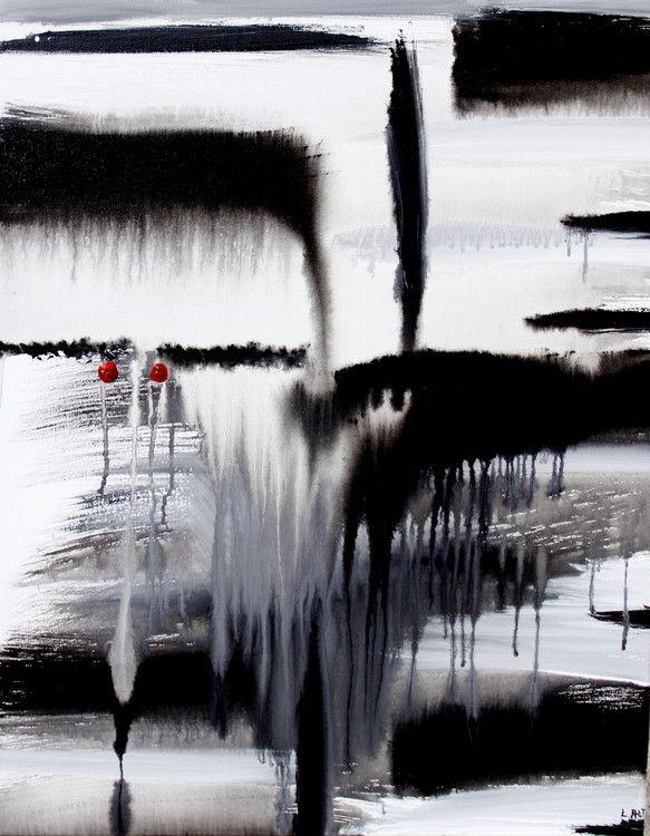 Rain Man - Painting,  22x28x1 in ©2015 par Leo's Fine Art -  Peinture