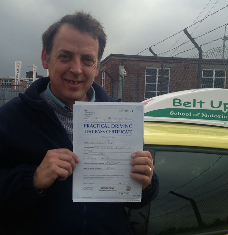 Paul Paisey passed his driving test FIRST TIME with our driving instructor, Daren. Paul had help from the office with his theory test revision and then went on to pass with flying colours.