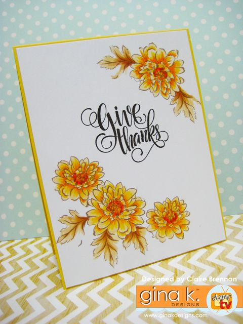 Card Making Ideas Thanksgiving Part - 19: Created With The New Painted Autumn Kit From Gina K Designs, Click Here To  See · Altenew CardsCraft ...