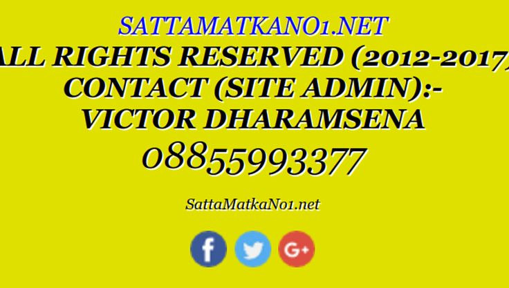 Satta Matka Is Primarily a kind of Gambling That Originated In metropolis, Kalyan, India. we have a tendency to ar World's No.1 Satta Matka Platform wherever You ne'er Have Any Risk Of Loss.