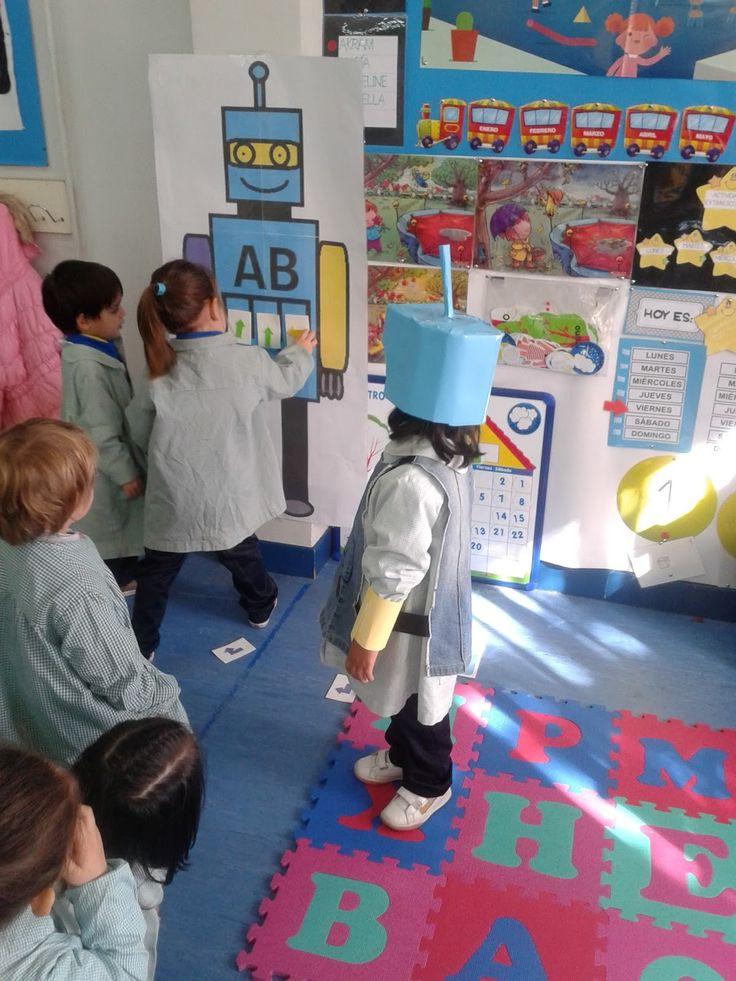 INFANTIL 3 AÑOS CEIPLOPEDEVEGA: EXPERIENCIAS DE PROGRAMACIÓN Y ROBÓTICA EDUCATIVA.