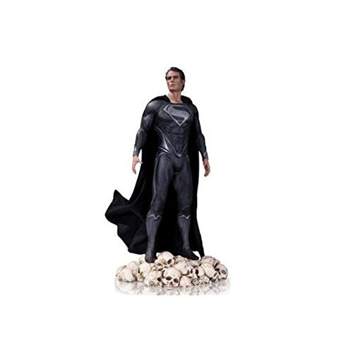 2013 SDCC Man of Steel Black Variant Exclusive Superman 1/6 Scale Statue @ niftywarehouse.com #NiftyWarehouse #Superman #DC #Comics #ComicBooks