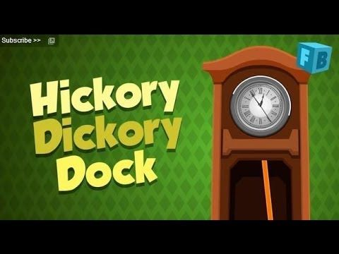 Hickory Dickory Dock - Children Nursery Rhymes | Song , Full Lyrics - YouTube  (jazzy)