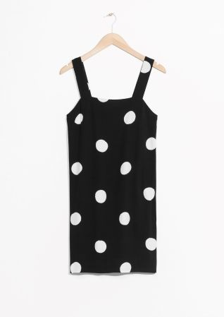 & Other Stories | Wide Strap Dress