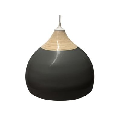 Leitmotiv hanglamp Glazed zwart