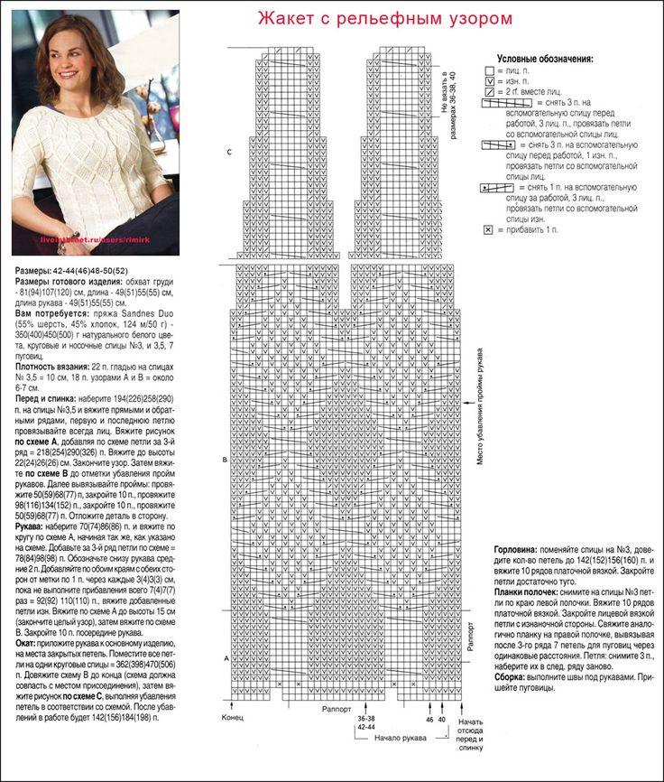 Σακάκι με ένα ανάγλυφο σχέδιο της φινλανδικής σχεδιαστές. Μεγέθη 42 - 52 ος (οι ακτίνες). Συζήτηση για LiveInternet - Ρωσική Υπηρεσία online ημερολόγια