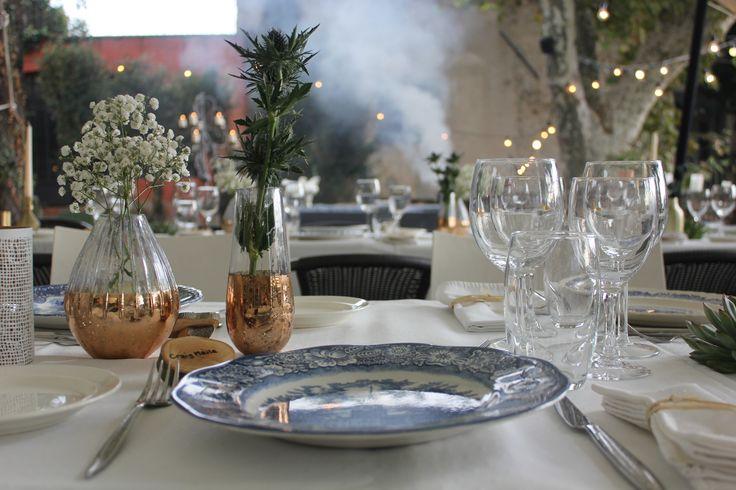 L'art de la table par Elise Allongue de l'Institut Gastronomie Riviera.