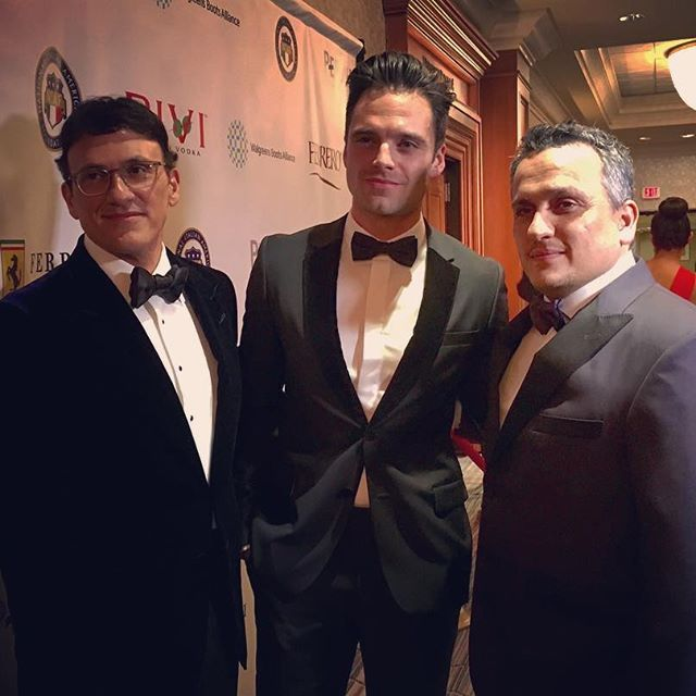 Congratulations to the great @therussobrothers Joe and Anthony on #NIAF Jack Valenti institute Award, National Italian American Foundation honoree... proud to be here...