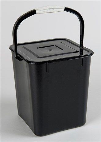 Plastic Worktop Bin (26cm x 23cm x 23cm)