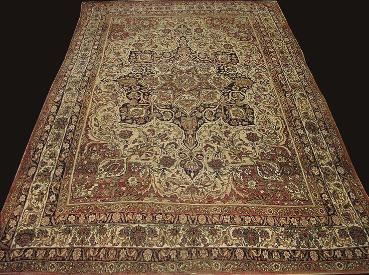 Great Antique Rug From Kermanshah
