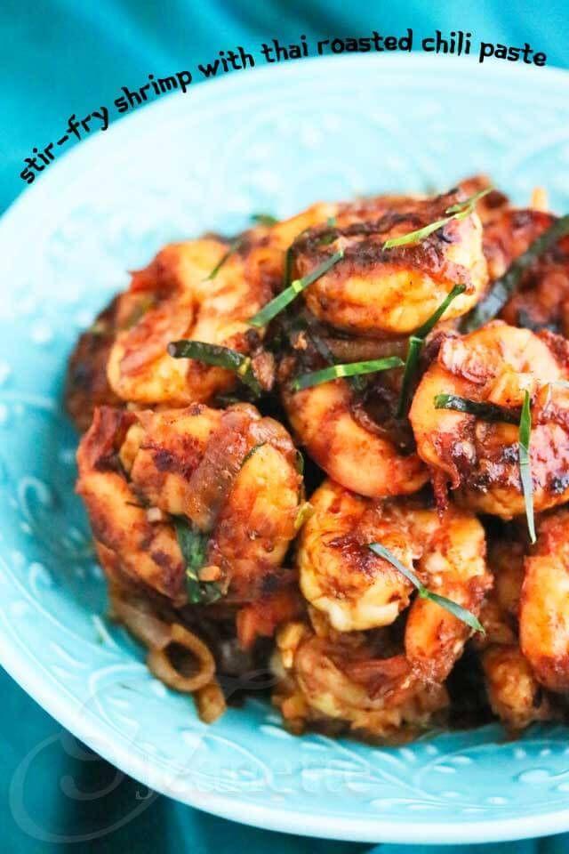 thai roasted chili paste recipes fish shrimp fry shrimp chili shrimp ...