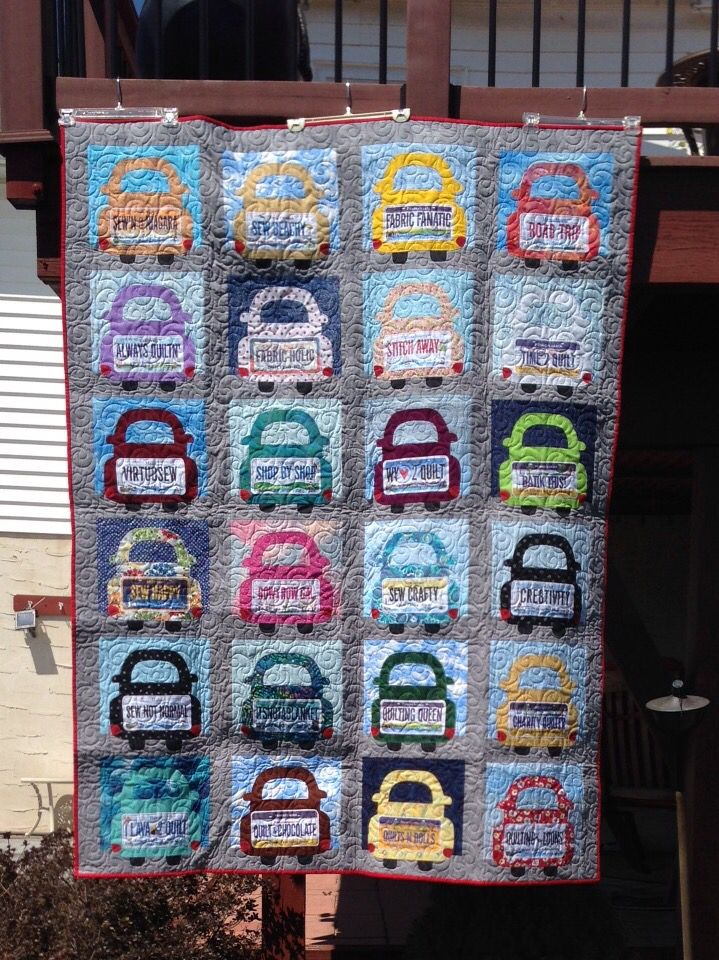 51 Best Quilts Row By Row License Plate Quilts Images On