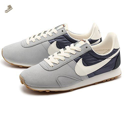 Womens Nike Pre Montreal RCR VNTG Sneakers Shoes (6.5, Lt MGNT Gray/Sail