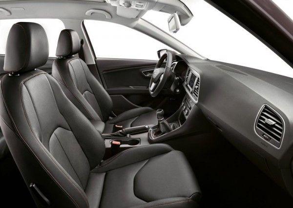 2014 Seat Leon ST Stylish Interior 600x426 2014 Seat Leon ST Full Reviews