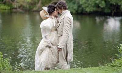 Vanessa Kirby as Estella & Douglas Booth as Pip, Great Expectations