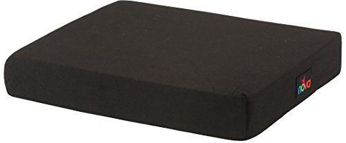 """NOVA Medical Products 3"""" Gel/Foam Wheelchair Cushion, Black"""
