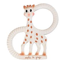 Sophie the Giraffe teething ring version! Wyatt loves this. He stares at her and then decides where to chew. He went from being terrible in the carseat to being a quiet angel.