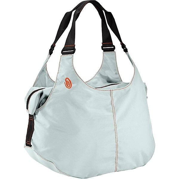 timbouk2 bag - in jeans impunture arancioni