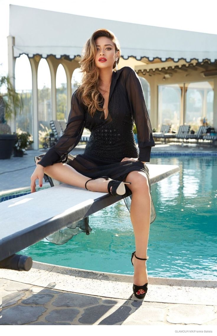 Shay Mitchell Poses for Frankie Batista in Glamour Mexico November 2014 Shoot