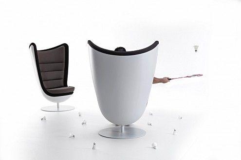 Badminton, el sillón fonoabsorbente que activa tu creatividad
