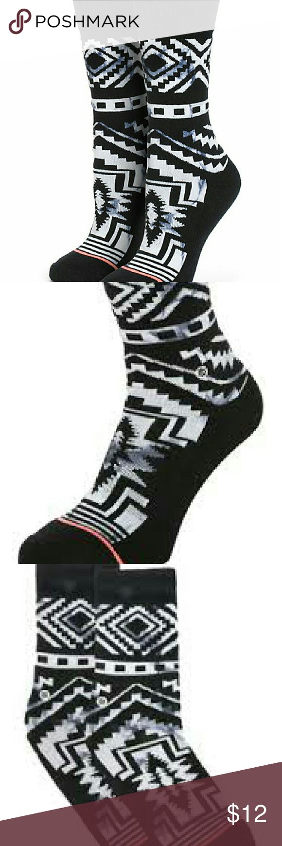 Stance Athletic Socks - NWT Brand new with tags black and white Stance Athletic Socks.  5 pair available for purchase.  (Due to the amount I paid AND Poshmark's 20% fee, I am unable to lower the price UNLESS you buy multiples and/or bundle with other items.)  This listing is only for 1 pair, so message me if you would like more than one. Stance Accessories Hosiery & Socks