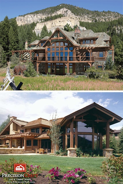 Modern Country Designs: My Modern Country Dream Home: Timber Framed