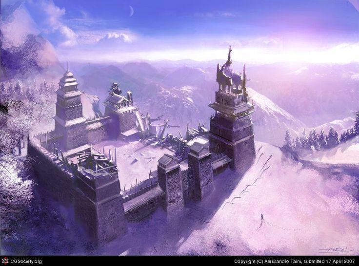 snow level by Alessandro Taini | 2D | CGSociety