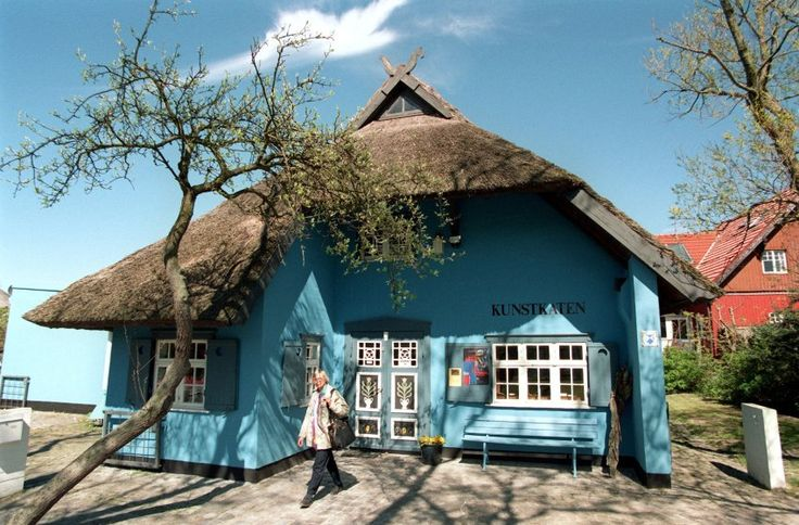 Kunstkaten in Ahrenshoop: Die Künstlerkolonie auf der Halbinselkette Fischland-Darß wurde Ende des 19. Jahrhunderts gegründet. Auch die Münchner Künstler Marianne von Werefkin und Alexej Jawlensky machten eine Stippvisite an der Ostsee.