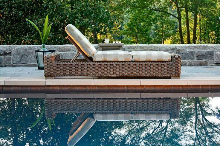 Summer Classics Rustic Chaise