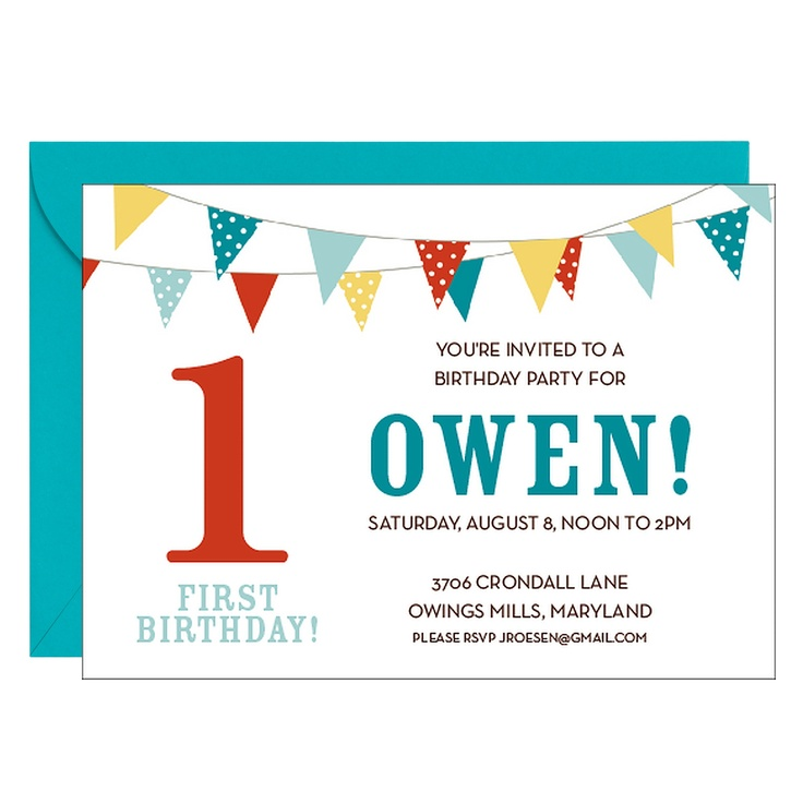 19 best Invitations images on Pinterest | Birthdays, Invitations and ...