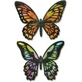 Tim Holtz Detailed Butterflies Thinlits Dies 4 Pack